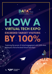 """Get our free whitepaper on """"HOW A VIRTUAL TECH EXPO EXCEEDED TARGET VISITORS BY 100%"""""""